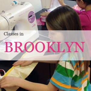 brooklyn sewing classes for kids